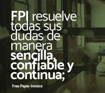 facturar electrónicamente con FPI